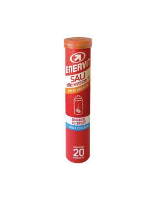 ENERVIT - SALI EFFERVESCENTI - TUBO da 20CPS (80g) - 90901 scad. 31/01/22 - ARANCIA