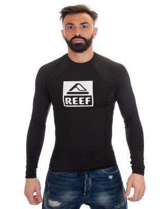 REEF - LOGO RASHGUARD II L/S - RA3ZS3BLA - BLACK