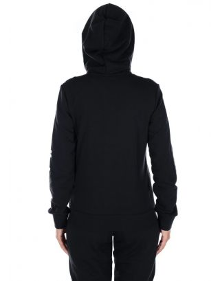 ADIDAS - FELPA DONNA - HOODIE ESSENTIALS LINEAR - DP2401 - BLACK