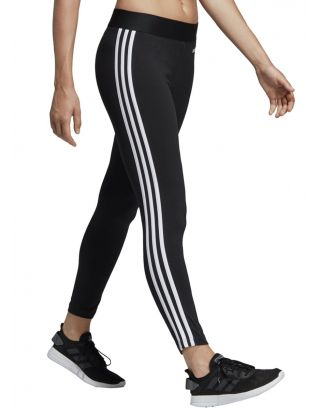 ADIDAS - LEGGINGS DONNA - ESSENTIALS 3-STRIPES - DP2389 - BLACK/WHITE