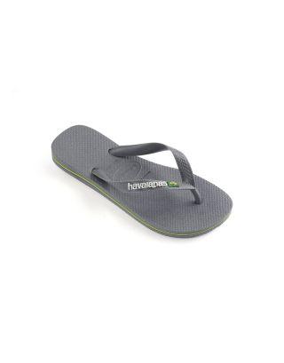 HAVAIANAS - INFRADITO UNISEX - BRASIL LOGO - 4110850-5002 - STEEL GREY