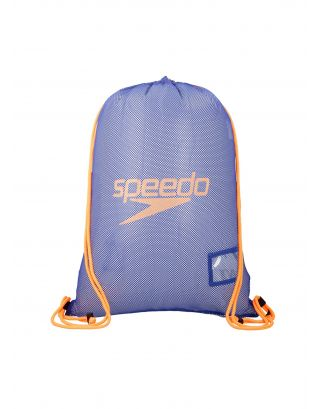 SPEEDO - SACCA - EQUIPMENT MESH BAG - 66x48 - 35L - 07407C267 - BLUE/ORANGE