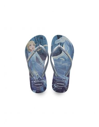 HAVAIANAS - INFRADITO BIMBA - SLIM FROZEN - 4137266-4376 - WHITE/SNOWFLAKES
