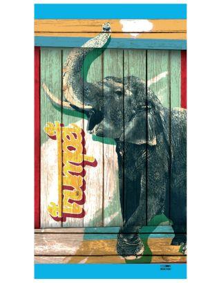 SPAZIALE SPLENDY - TELO SPIAGGIA MICROFIBRA - 180x100cm - 9175 - ELEPHANT
