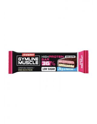 ENERVIT GYMLINE - HIGH PROTEIN BAR 36% RED FRUIT - SCAD. 08/04/21 - SENZA GLUTINE - 92877 - 55g