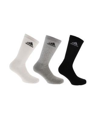 ADIDAS - CALZE/SOCKS - 3-STRIPES PERFORMANCE (3 PACK) - AA2299 - BLACK/WHITE/GREY