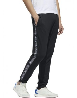 ADIDAS - PANTALONE UOMO - ESSENTIALS TAPE - GD5451 - BLACK/WHITE