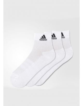 ADIDAS - CALZE/SOCKS - 3-STRIPES PERFORMANCE (3 PACK) - AA2285 - WHITE/BLACK
