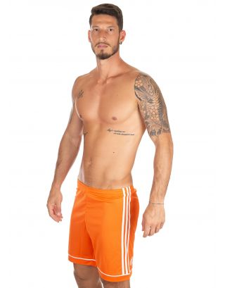 ADIDAS - PANTALONCINO/SHORT - SQUAD - BJ9229 - ORANGE/WHITE