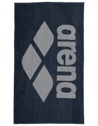ARENA - TELO SPUGNA - POOL SOFT TOWEL - 150x90cm - 001993750 - NAVY/GREY