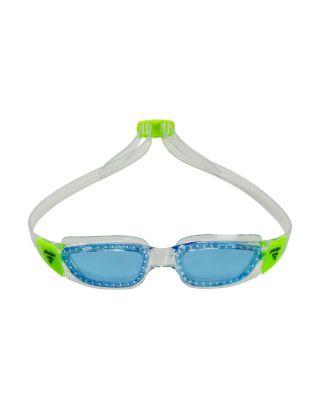 PHELPS - OCCHIALINO TIBURON JR - 189.320 - CLEAR/BRIGHT GREEN - BLUE LENSES
