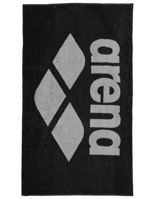 ARENA - TELO SPUGNA - POOL SOFT TOWEL - 150x90cm - 001993550 - BLACK/GREY