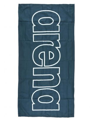 ARENA - TELO MICROFIBRA - GYM SMART TOWEL - 100x50cm - 001992710 - NAVY/WHITE