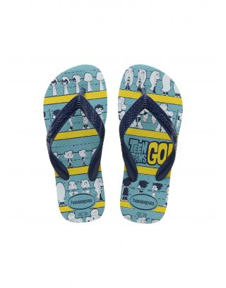 HAVAIANAS - INFRADITO JUNIOR - YOUNG TITANS - 4144662-0031 - BLUE