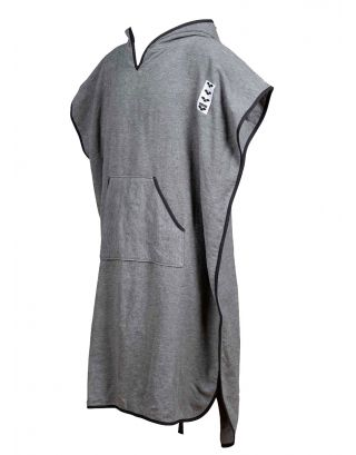 ARENA - PONCHO DONNA - ICONS HOODED - 004375100 - GREY