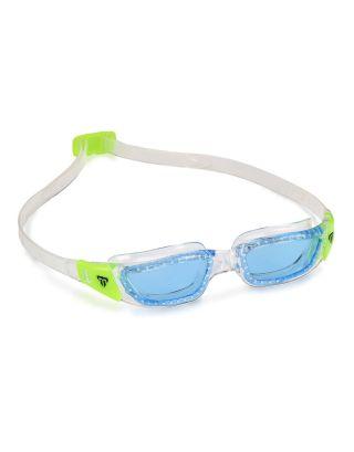 PHELPS - OCCHIALINO TIBURON KID - 189.360 - CLEAR/BRIGHT GREEN - BLUE LENSES