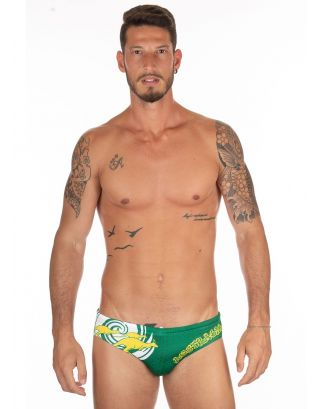 MIKASA - COSTUME SLIP/BRIEF - BEACHVOLLEY MT5013 VV21 - GREEN