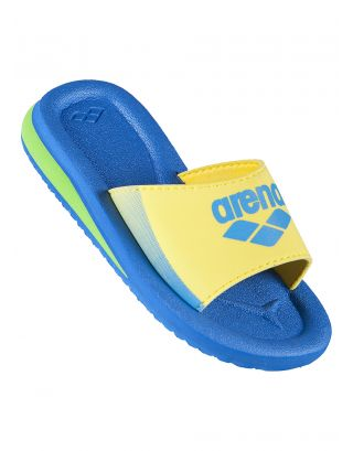 ARENA - CIABATTA BIMBO - BEAT KIDS - 8128037 - FAST BLUE, YELLOW
