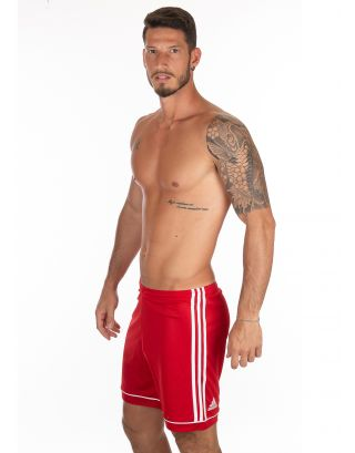 ADIDAS - PANTALONCINO/SHORT - SQUAD - BJ9226 - RED/WHITE