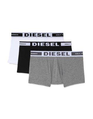 DIESEL - 3-PACK BOXER/TRUNK - 00CKY3 0BA0F E4157 - GRAY/WHITE/BLACK