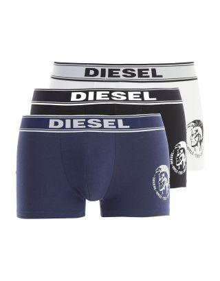 DIESEL - 3-PACK BOXER/TRUNK - 00SAB2 OTANL 02 - NERO/BLUE/BIANCO