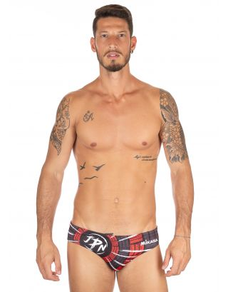 MIKASA - COSTUME SLIP/BRIEF - BEACHVOLLEY MT5013 VV15 - BLACK