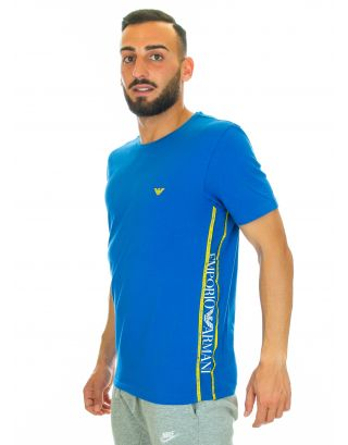 EMPORIO ARMANI - CREW NECK T-SHIRT S/S - 211813 9P462 24333 - BLUE