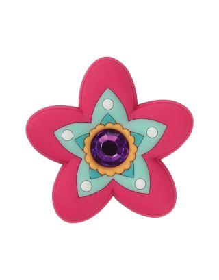 CROCS - JIBBITZ™ SHOE CHARMS - 1056 - RHINESTONE STAR FLOWER