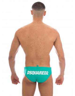 DSQUARED2 - COSTUME SLIP/BRIEF - D7B311750 890 - GREEN
