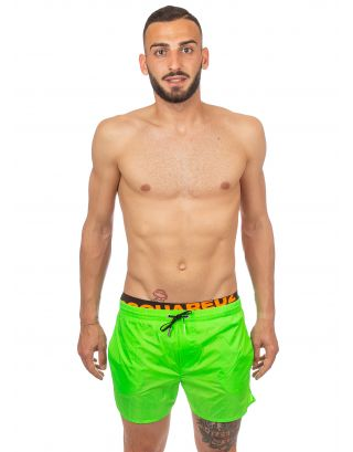 DSQUARED2 - COSTUME SHORT - D7B642030 860 - FLUO GREEN