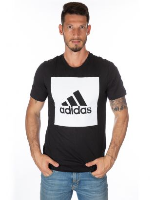 ADIDAS - T-SHIRT UOMO - ESSENTIALS BOX LOGO - S98724 - BLACK
