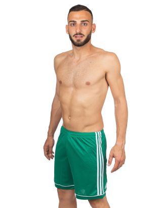 ADIDAS - PANTALONCINO/SHORT - SQUAD - BJ9231 - GREEN/WHITE