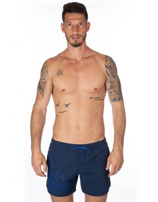 EMPORIO ARMANI - COSTUME SHORT - EAGLE - 902000 8P724 06935 - NAVY