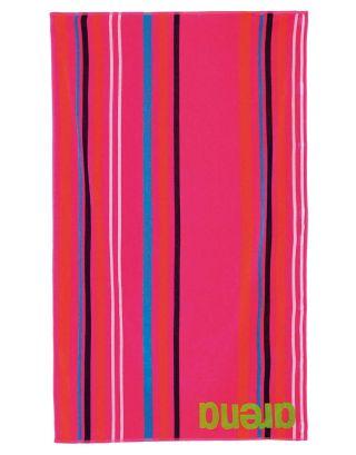 ARENA - TELO MARE - BIG MULTISTRIPES TOWEL - 000887900 - FRESIA ROSE/MULTI - 170x100cm