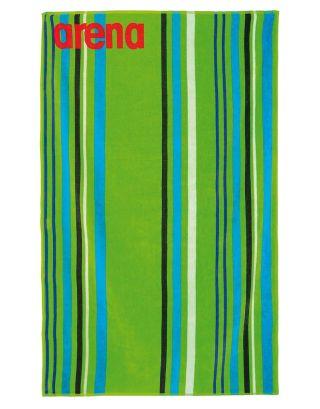 ARENA - TELO MARE - BIG MULTISTRIPES TOWEL - 000887600 - LEAF/MULTI - 170x100cm