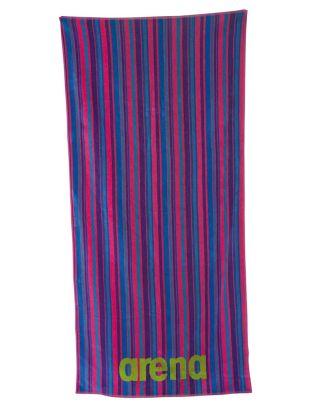 ARENA - TELO MARE - MULTISTRIPES TOWEL - 000886900 - FRESIA ROSE/MULTI - 170x80cm