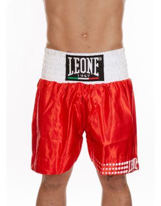 LEONE - PANTALONCINO BOXE  - AB737 - RED
