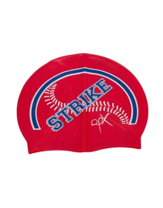 AQQUATIX - CUFFIA SMILE CAP ADULTO - STRIKE - RED