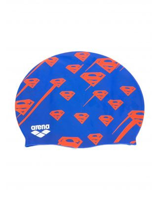 ARENA - CUFFIA SILICONE - SUPER HERO CAP JR - 001553720 - SUPERMAN