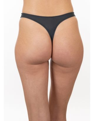 CHRISTIES - PERIZOMA/THONG WOMAN - TATTO - 20356 - ANTHRACITE