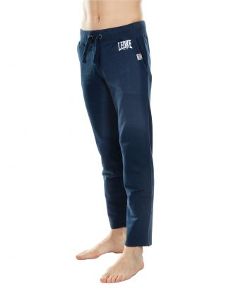 LEONE - PANTALONE - MAN FLEECE PANTS - LSM590-10 - NAVY