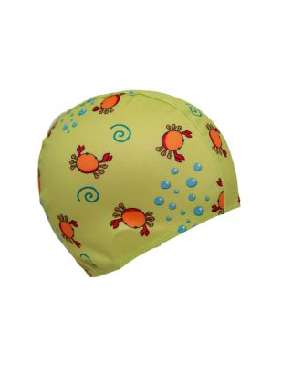 AQQUATIX - CUFFIA JUNIOR LYCRA - FANCY JR CAP - BPS0001 - 7404 - LIGHT GREEN