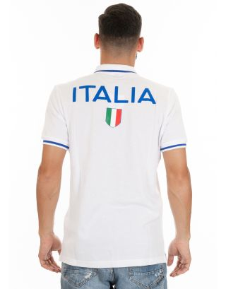 ARENA - POLO ITALY FIN S/S - 001014108 - WHITE