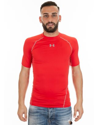 UNDER ARMOUR - T-SHIRT HG ARMOUR SS - 1257468-600 - RED