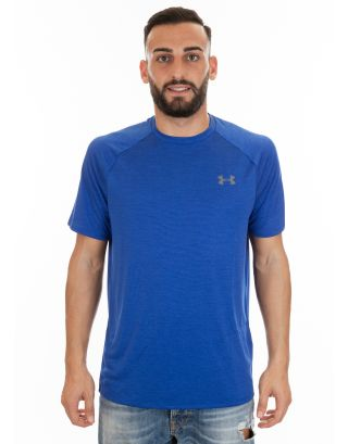 UNDER ARMOUR - T-SHIRT UOMO - UA TECH - 1326413-401 - ROYAL