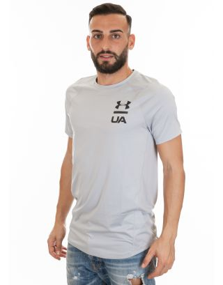 UNDER ARMOUR - T-SHIRT UOMO - UA MK-1 - 1320825-941 - OVERCAST GREY