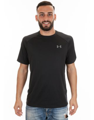 UNDER ARMOUR - T-SHIRT UOMO - UA TECH - 1326413-001 - BLACK