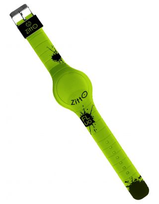 ZITTO - OROLOGIO LIMITED - WATERPROOF 100M - FLUO - 44mm - ATOMIC LIME