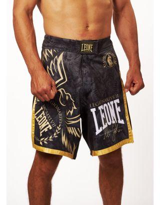 LEONE - PANTALONCINO MMA LEGIONARIVS II SAKARA - AB790 - BLACK