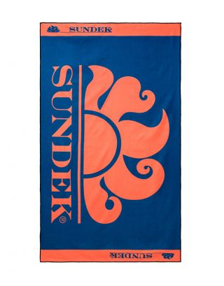SUNDEK - TELO MARE - ARES - AM349ATP8050-503 - NAVY #24 - 170x100cm - MICROFIBRA
